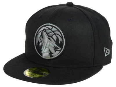 Minnesota Timberwolves New Era NBA Black Graph 59FIFTY Cap