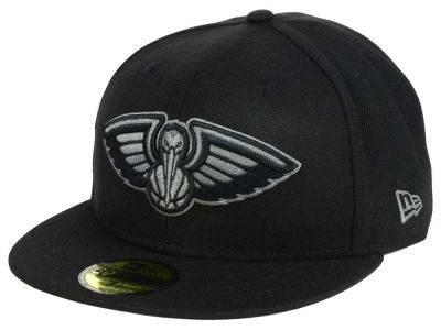 New Orleans Pelicans New Era NBA Black Graph 59FIFTY Cap