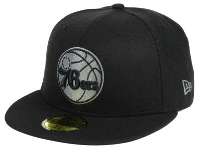 Philadelphia 76ers New Era NBA Black Graph 59FIFTY Cap