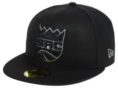 Sacramento Kings New Era NBA Black Graph 59FIFTY Cap
