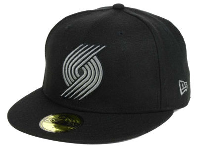 Portland Trail Blazers New Era NBA Black Graph 59FIFTY Cap