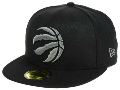 Toronto Raptors New Era NBA Black Graph 59FIFTY Cap