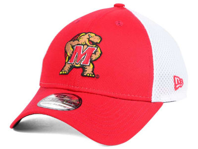 hot sale online 0889d c14e0 Maryland Terrapins New Era NCAA Neo 39THIRTY Cap