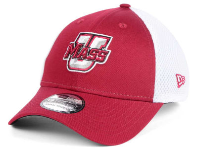 Massachusetts Minutemen New Era NCAA Neo 39THIRTY Cap