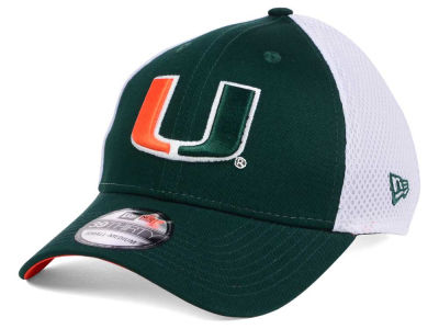 Miami Hurricanes New Era NCAA Neo 39THIRTY Cap