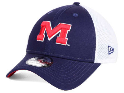 Ole Miss Rebels New Era NCAA Neo 39THIRTY Cap