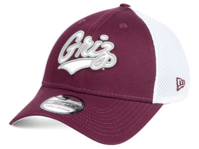 Montana Grizzlies New Era NCAA Neo 39THIRTY Cap