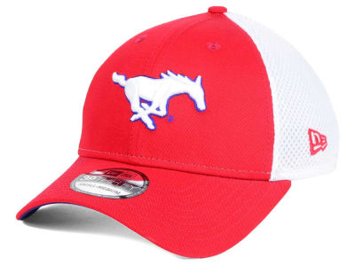 Southern Methodist Mustangs New Era NCAA Neo 39THIRTY Cap