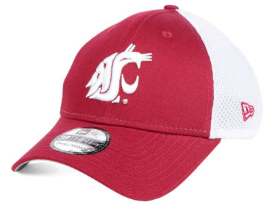 Washington State Cougars New Era NCAA Neo 39THIRTY Cap