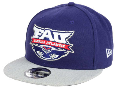 Florida Atlantic Owls New Era NCAA 9FIFTY Snapback Cap