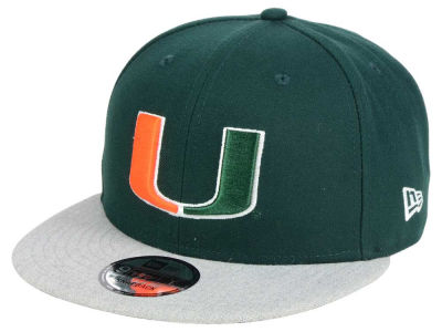 Miami Hurricanes New Era NCAA 9FIFTY Snapback Cap