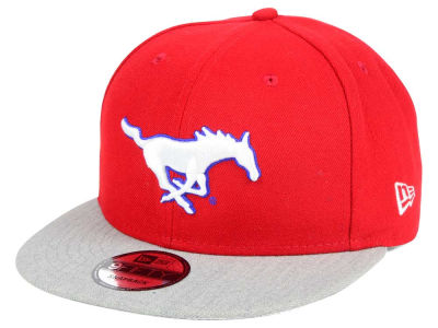 Southern Methodist Mustangs New Era NCAA 9FIFTY Snapback Cap