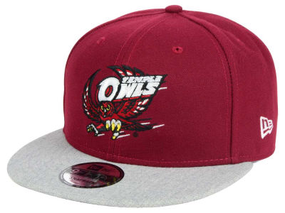 Temple Owls New Era NCAA 9FIFTY Snapback Cap