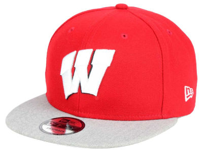Wisconsin Badgers New Era NCAA 9FIFTY Snapback Cap
