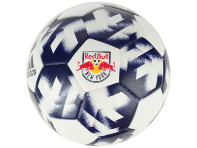 New York Red Bulls adidas Authentic Soccer Ball
