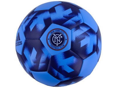 New York City FC adidas Authentic Soccer Ball