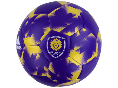 Orlando City SC adidas Authentic Soccer Ball