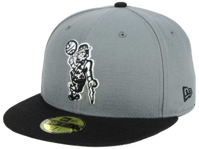 Boston Celtics New Era NBA 2-Tone Gray Black 59FIFTY Cap