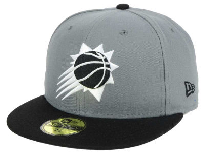 Phoenix Suns New Era NBA 2-Tone Gray Black 59FIFTY Cap