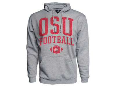 Ohio State Buckeyes NCAA Men's Football Logo ES Hooded Sweatshirt