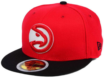 Atlanta Hawks New Era NBA Kids 2-Tone Team 59FIFTY Cap