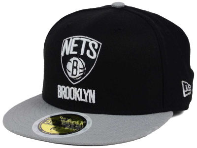 Brooklyn Nets New Era NBA Kids 2-Tone Team 59FIFTY Cap