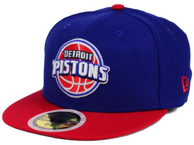 Detroit Pistons New Era NBA Kids 2-Tone Team 59FIFTY Cap