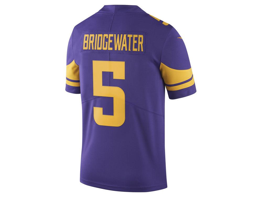 4948b0879 ... good minnesota vikings teddy bridgewater nike nfl mens limited color  rush jersey 77e1c 5da34