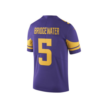 Minnesota Vikings Teddy Bridgewater Nike NFL Men's Limited Color Rush Jersey