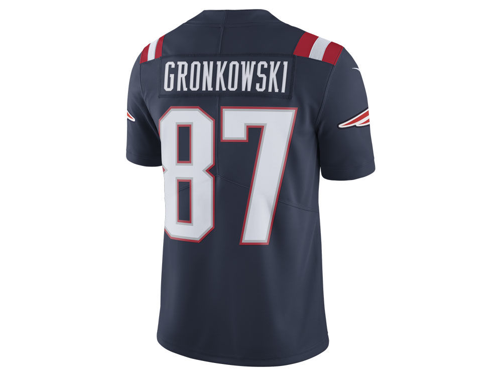 New England Patriots Rob Gronkowski Nike NFL Men s Limited Color Rush Jersey 0e820aeef6b00