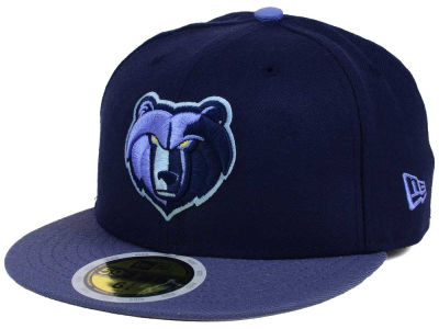 Memphis Grizzlies New Era NBA Kids 2-Tone Team 59FIFTY Cap