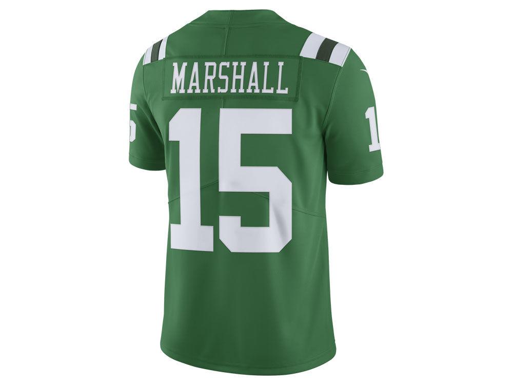 jets sam darnold green color rush legend jersey  new york jets brandon  marshall nike nfl mens limited color rush jersey 0270da911