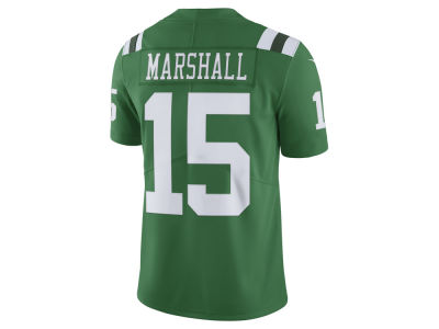 New York Jets Brandon Marshall Nike NFL Men's Limited Color Rush Jersey