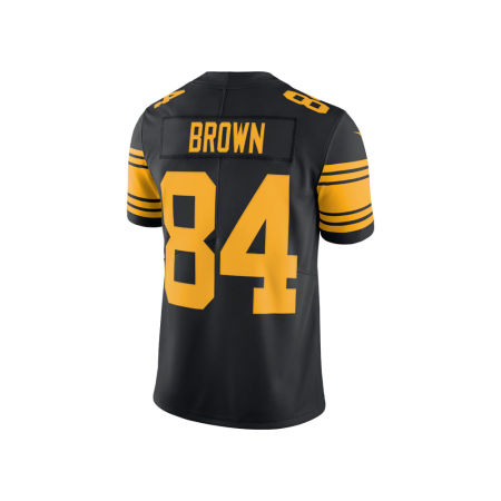 Pittsburgh Steelers Antonio Brown Nike NFL Men's Limited Color Rush Jersey