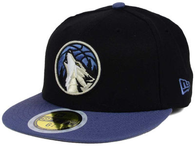 Minnesota Timberwolves New Era NBA Kids 2-Tone Team 59FIFTY Cap