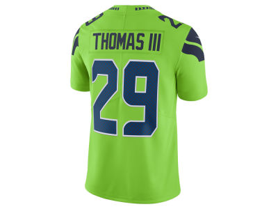 Seattle Seahawks Earl Thomas III Nike NFL Men's Limited Color Rush Jersey