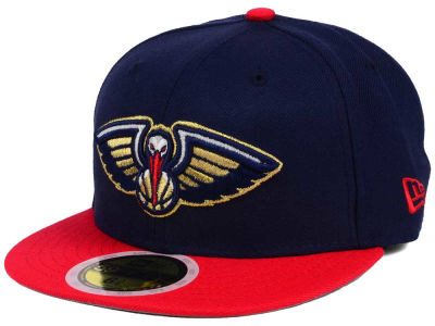 New Orleans Pelicans New Era NBA Kids 2-Tone Team 59FIFTY Cap