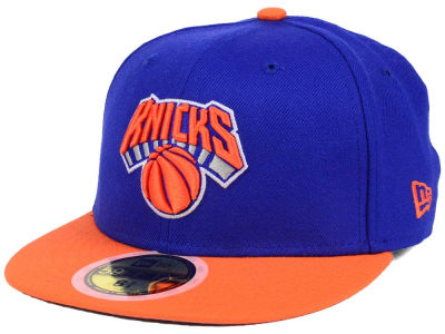 New York Knicks New Era NBA Kids 2-Tone Team 59FIFTY Cap
