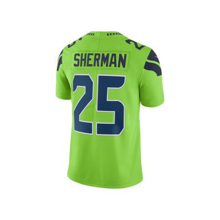 Seattle Seahawks Richard Sherman Nike NFL Men's Limited Color Rush Jersey