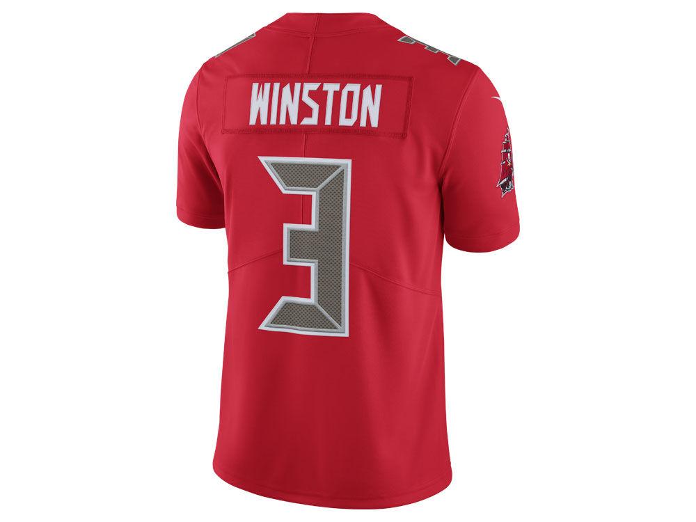 Tampa Bay Buccaneers Jameis Winston Nike NFL Men s Limited Color Rush Jersey   da83c4ee0