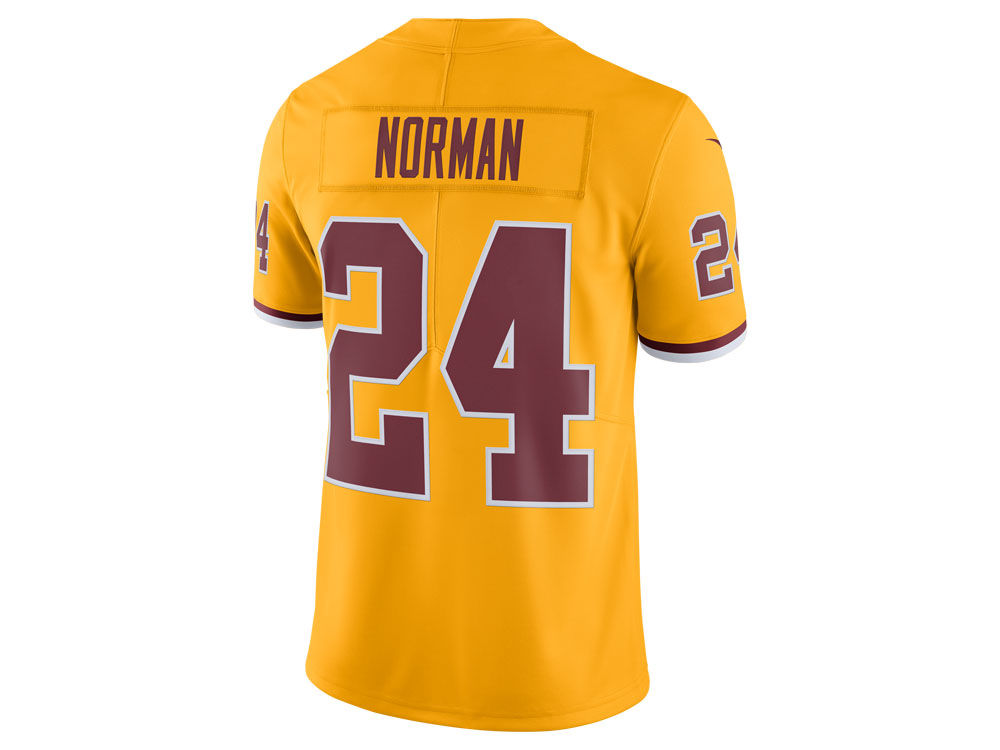 Washington Redskins Josh Norman Nike NFL Men s Limited Color Rush Jersey 923f06a34
