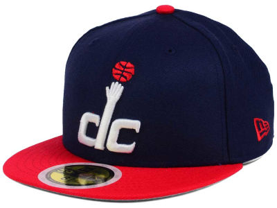 Washington Wizards New Era NBA Kids 2-Tone Team 59FIFTY Cap
