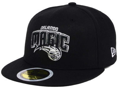 Orlando Magic New Era NBA Kids Black White 59FIFTY Cap