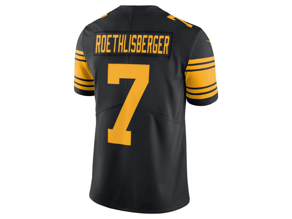 a70710aa8 Pittsburgh Steelers Ben Roethlisberger Nike NFL Men s Limited Color Rush  Jersey
