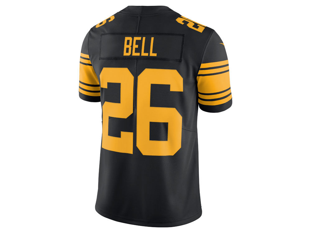 756ba4f5c ... antonio brown mens football away game jersey 2ef59 6f350  coupon for pittsburgh  steelers leveon bell nike nfl mens limited color rush jersey dc682 9ff91