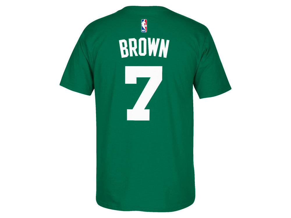 Boston Celtics Jaylen Brown adidas NBA Men s Player T-Shirt  34c3a9f14