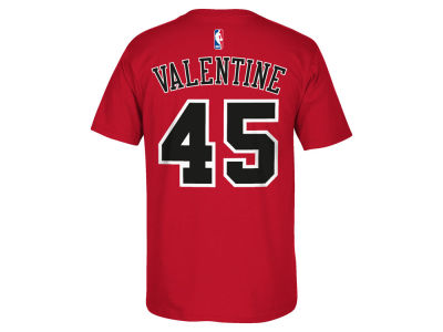 Chicago Bulls Denzel Valentine adidas NBA Men's Player T-Shirt