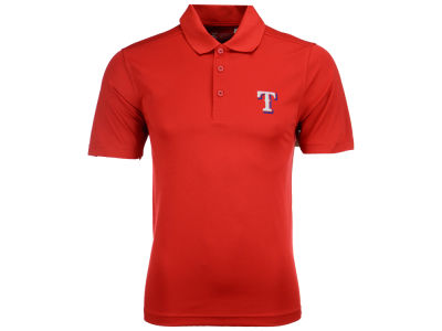 Texas Rangers Cutter & Buck MLB Men's Fairwood Polo Shirt