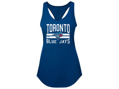 Toronto Blue Jays Majestic MLB Women's Four Seamer Tank