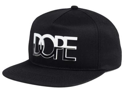 46b824c8851 Dope Two-Tone Metal Logo Snapback Cap
